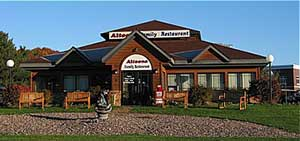 Altoona Family Restaurant <br />2000 North Hillcrest Pkwy <br />Hwy 12 E<br />Altoona, WI 54720<br />715-830-5000